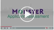 Applicant Assessment video thumbnail with play button