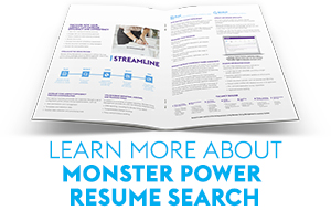 Monster Power Resume Search Monster Government Solutions